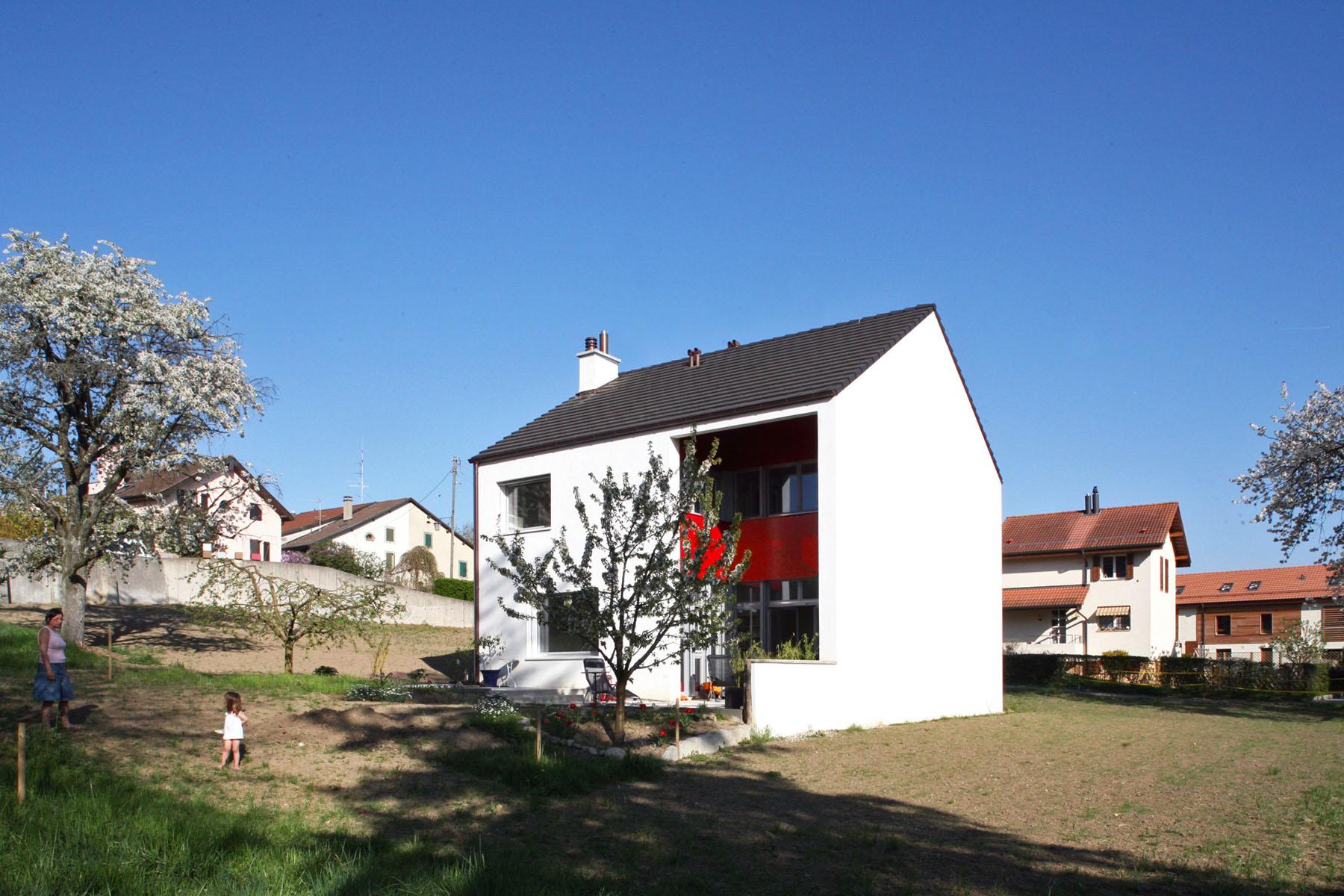 maison gen ve d 39 architecte atelier siebold architecte. Black Bedroom Furniture Sets. Home Design Ideas