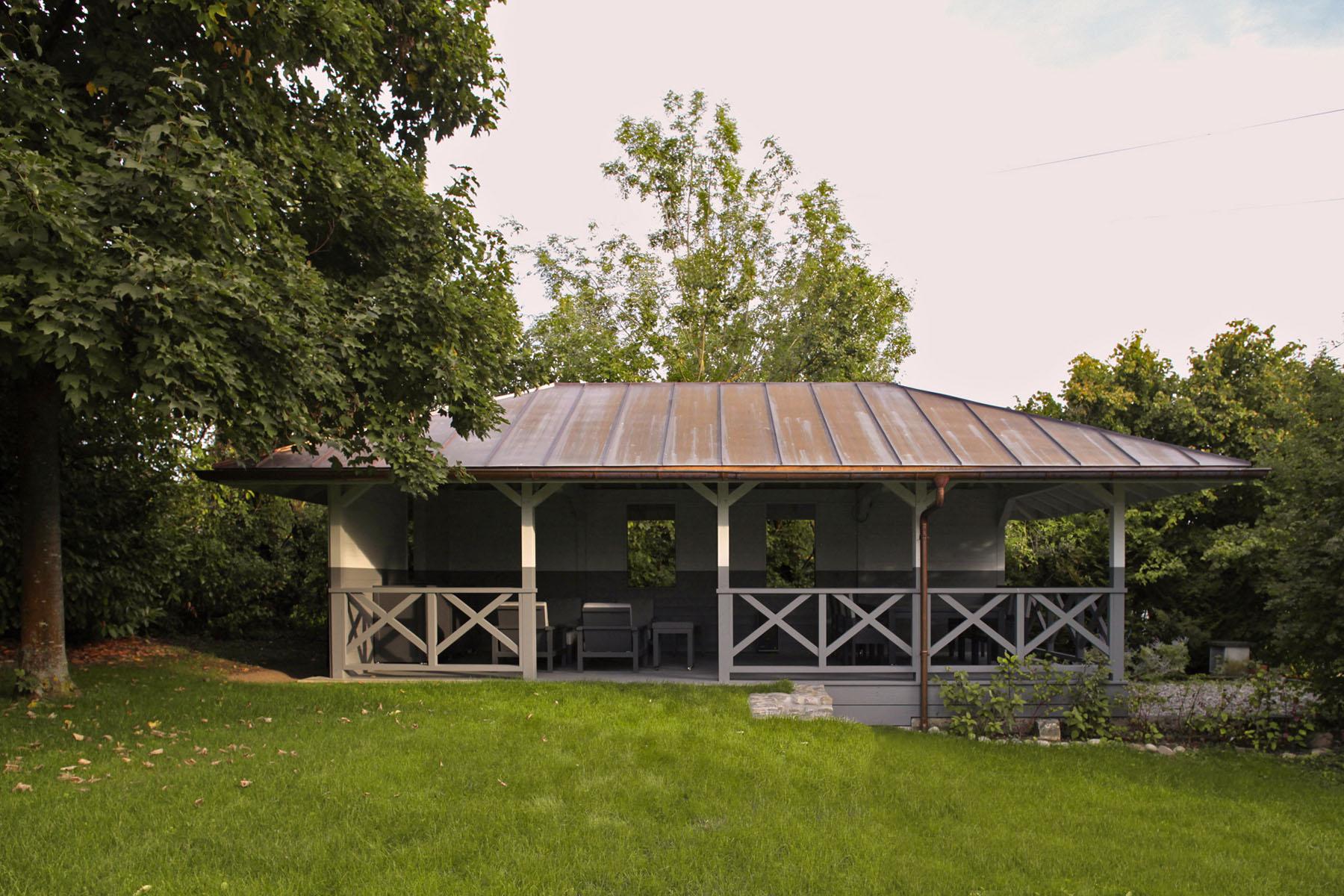 A summer pavilion - Atelier Siebold